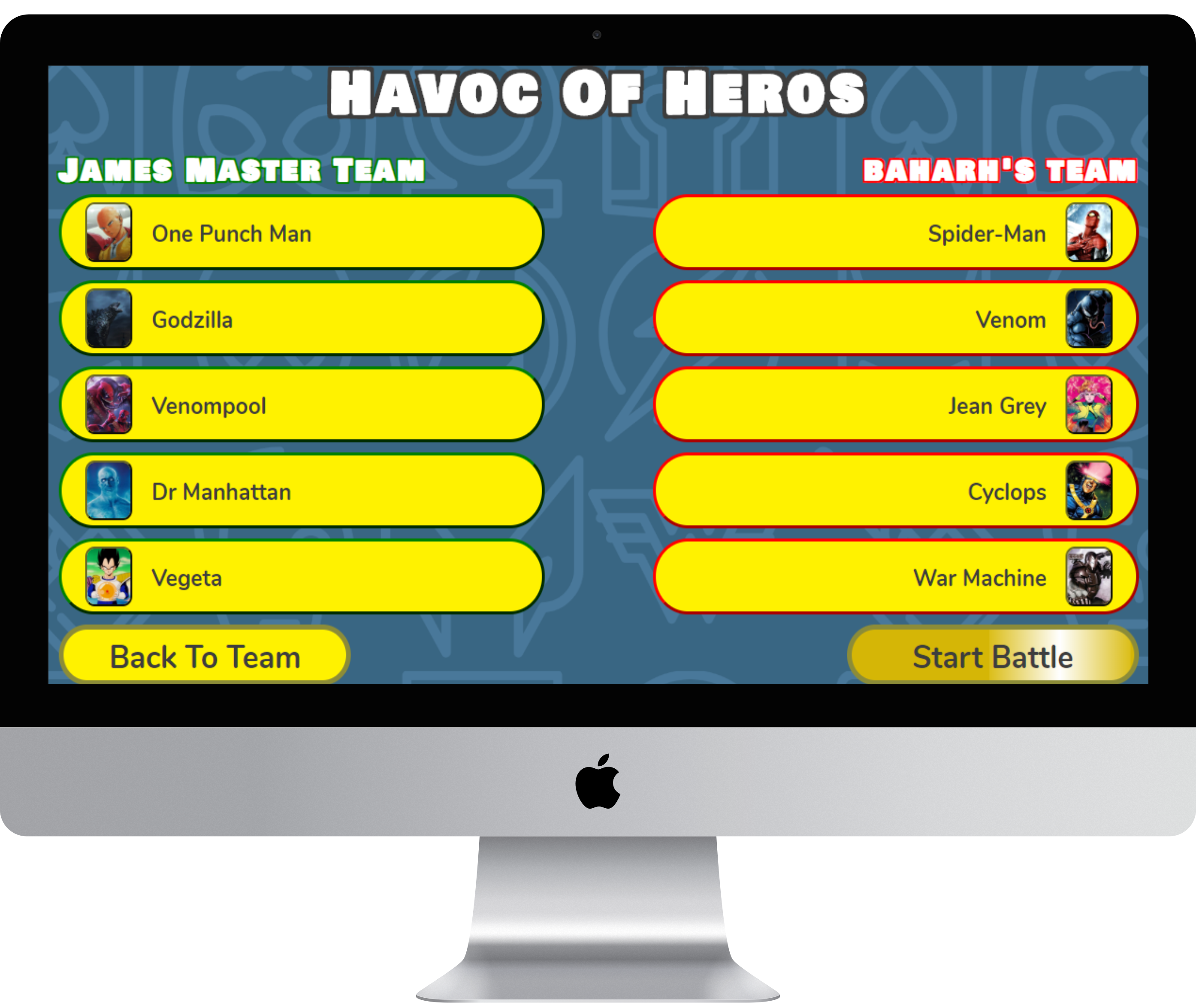 Havoc Of Heroes
